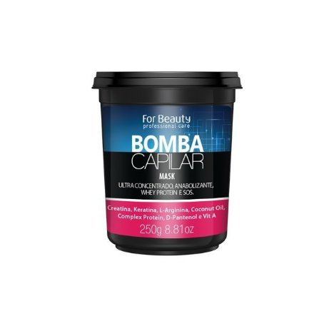 FOR BEAUTY BOMBA CAPILAR MÁSCARA 250g