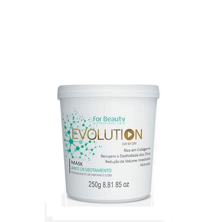 FOR BEAUTY EVOLUTION ANTI DESBOTAMENTO MASQUE 250g