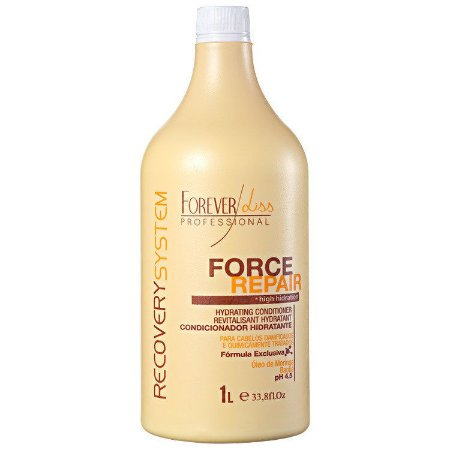 FOREVER LISS  FORCE REPAIR  HIDRATAÇÃO CONDICIONADOR  1000ml