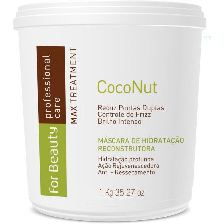 FOR BEAUTY MÁSCARA COCONUT 1kg