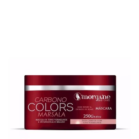 MORGANE BIO CARE MATIZADOR CARBONO COLORS MARSALA 250g