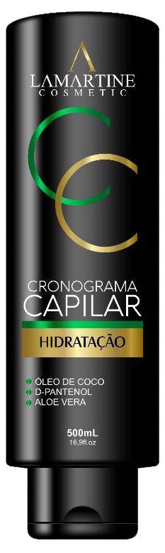 LAMARTINE COSMETIC CRONOGRAMA CAPILAR HIDRATAÇÃO 500ml