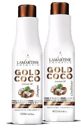 LAMARTINE - GOLD COCO SHAMPOO E CONDICIONADOR 1 LITRO