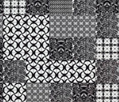 Kit Preto e Branco com 20 peças