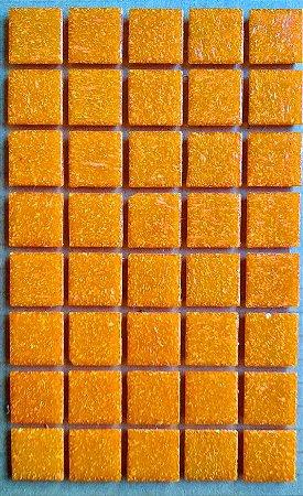 Pastilha Vidro Laranja Pigmentada 2x2