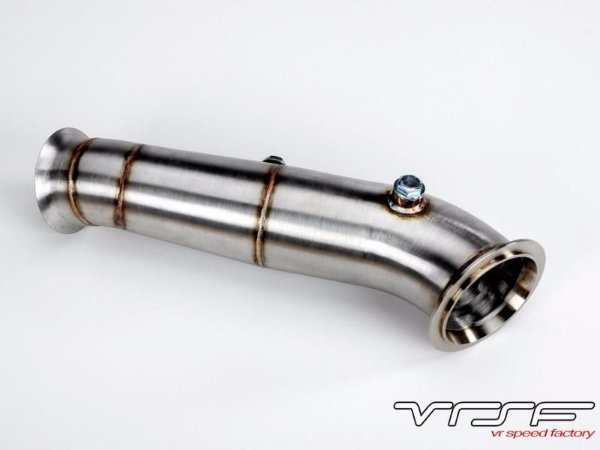 "Downpipe VRSF 3.5"" N55 M135i M335i F30 F20 ate 2013 (WG Pneumatico)"
