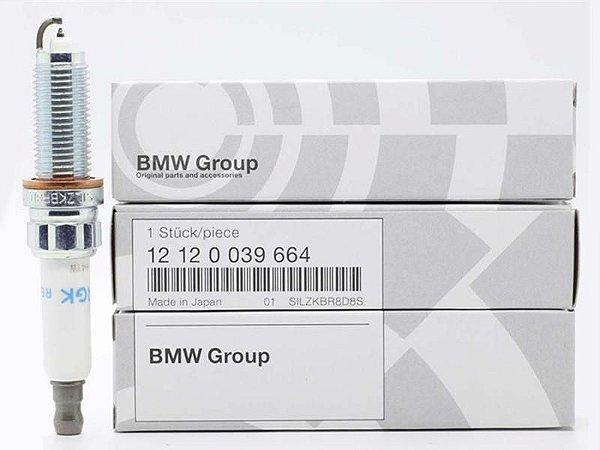 KIT 4 Velas BMW N20 FLEX e Gasolina 12 12 0 039 664