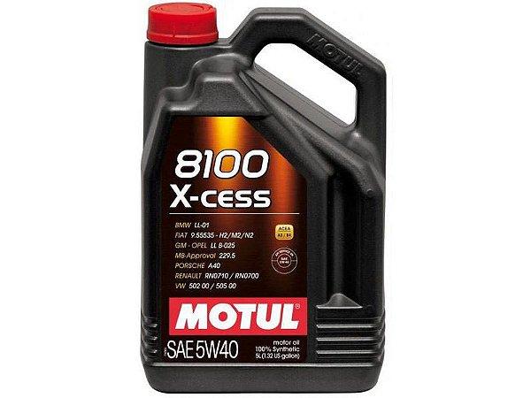 Oleo Motul 8100 X-Cess 5w40 5L