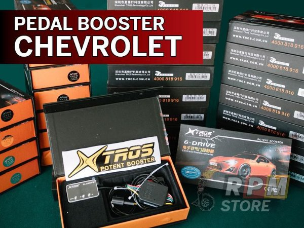 Pedal Booster Chevrolet Xtros Potent Booster