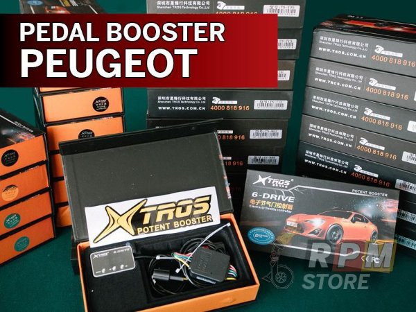 Pedal Booster Peugeot Xtros Potent Booster