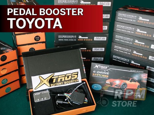 Pedal Booster Toyota Xtros Potent Booster