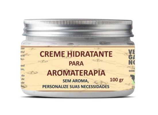 Creme hidratante para aromaterapia natural 100 ml