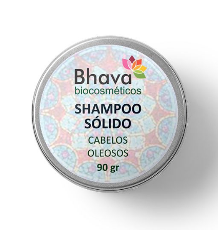 Shampoo sólido natural cabelos oleosos 90gr