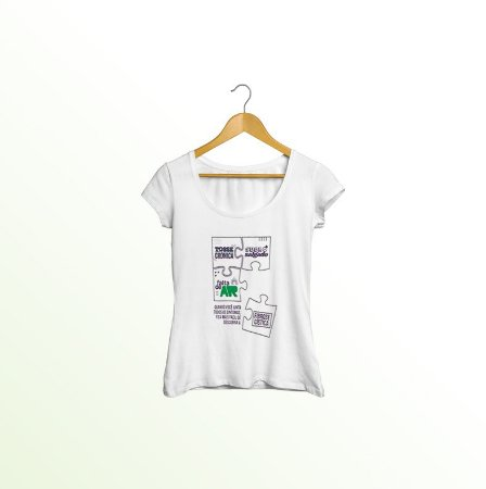 Camiseta Mês da Fibrose Cística | Setembro Roxo