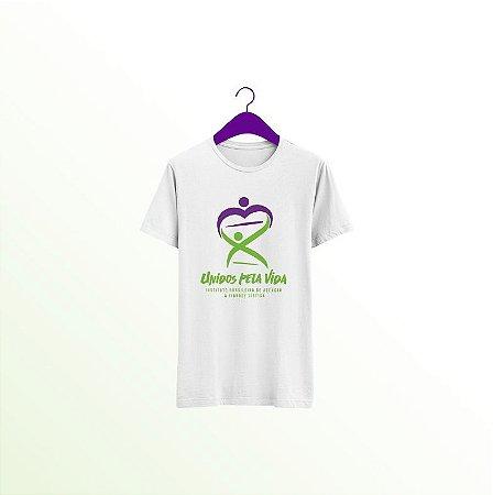 Camiseta Branca Unidos Pela Vida