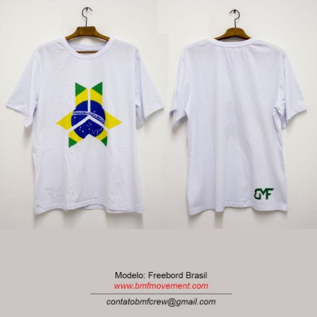 Camiseta Freebord Brasil