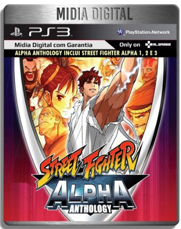 Street Fighter Alpha Collection  - Ps3 Psn - Mídia Digital