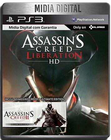 Assassins Creed Liberation & Assassins Creed 2 Ultimate - Ps3 Psn - Mídia Digital