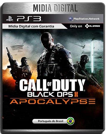 Dlc Apocalypse Call of Duty Black ops 2 - Ps3 Psn - Mídia Digital ( Jogo não Incluso )