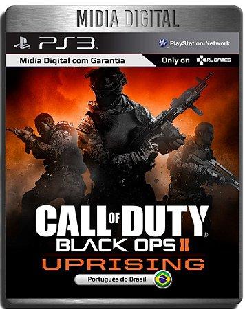 Dlc Uprising Call of Duty Black ops 2 - Ps3 Psn - Mídia Digital ( Jogo não Incluso )