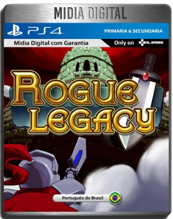 Rogue Legacy - Ps4 Psn - Mídia Digital