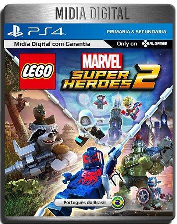 Lego Marvel Super Heroes 2 - Ps4 Psn - Midia Digital Secundária