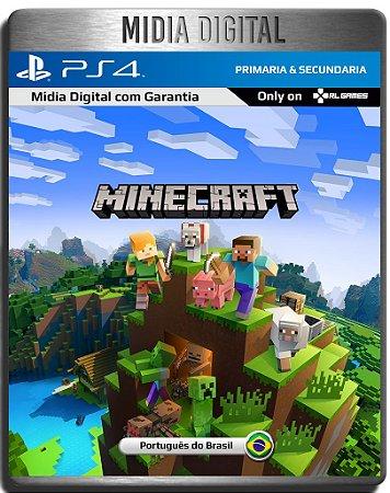Minecraft Playstation 4 Edition - Ps4 Psn - Midia Digital Secundária
