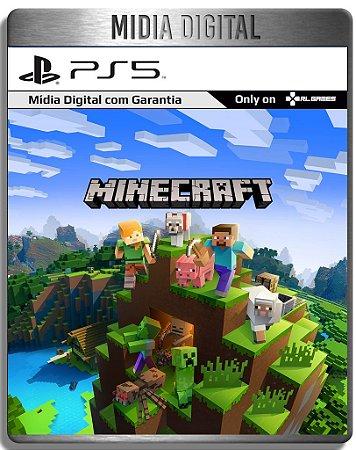 Minecraft  - Ps5 Psn - Midia Digital Primaria Retro