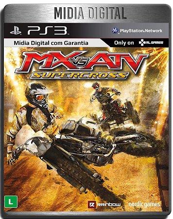 MX vs ATV Supercross - Ps3 Psn - Mídia Digital