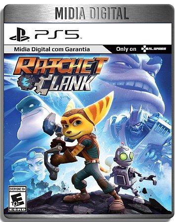 Ratchet e Clank - Ps5 Psn - Mídia Digital Retro