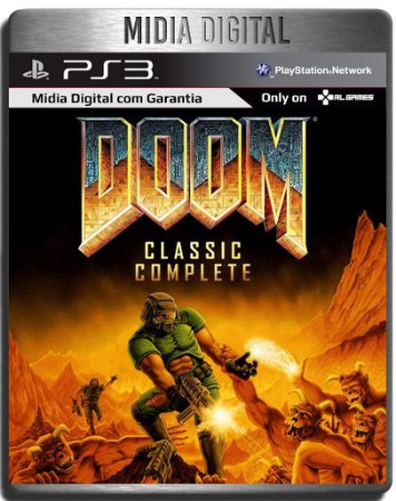 Doom Classic Complete - Ps3 Psn - Mídia Digital