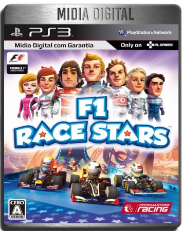F1 Race Stars - Ps3 Psn - Mídia Digital