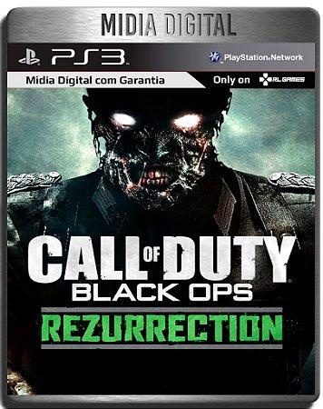 Dlc Rezurrection Call of Duty Black ops  - Ps3 Psn - Mídia Digital ( Jogo não Incluso )