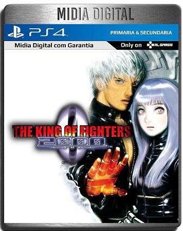 The King of Fighters 2000 Kof 2000 Ps4 Psn - Mídia Digital Primária