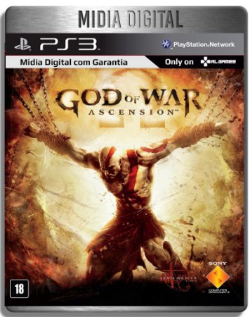 God Of War Ascension - Ps3 Psn - Mídia Digital
