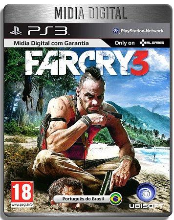 Far Cry 3 - Ps3 Psn - Mídia Digital