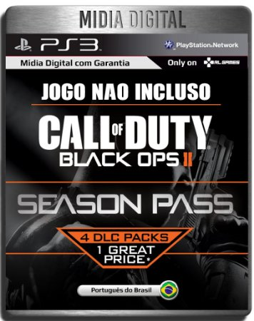 Season Pass Call of Duty Black Ops 2 Em Portugues - Ps3 Psn - Mídia Digital ( Jogo não incluso )