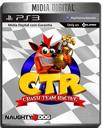 Crash Team Racing Ps3 Psn - Mídia Digital Ps1 Classic