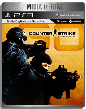 Counter Strike: Global Offensive - Cs Go - Ps3 Psn - Mídia Digital