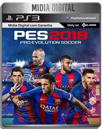 Pro Evolution Soccer 2018 - Pes 18 - Ps3 Psn - MíDia Digital