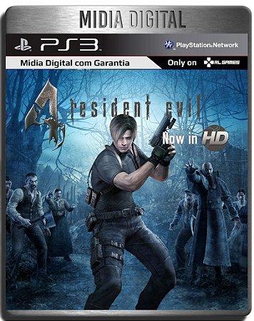 Resident Evil 4 Hd - Ps3 Psn - Mídia Digital