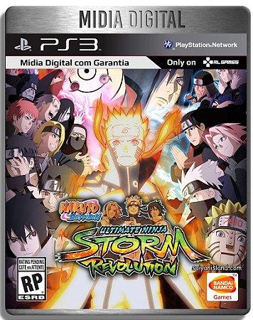 Naruto Shipudden: Ultimate Ninja Storm Revolution - Ps3  Psn - Mídia Digital