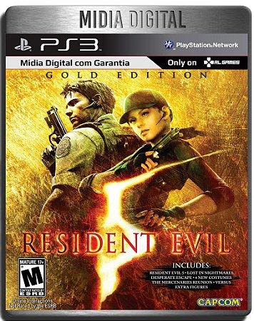 Resident Evil 5 Gold Edition - Ps3 Psn - Mídia Digital