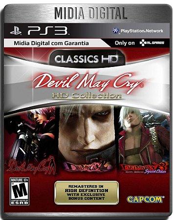 Devil May Cry Hd Collection - Ps3 Psn - Mídia Digital