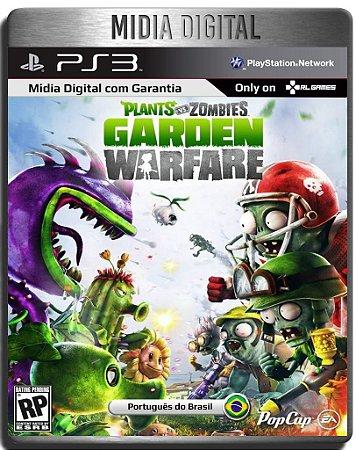 Plants Vs Zombies Garden Warfare  Ps3 Psn - Mídia Digital