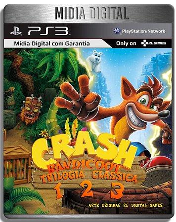 Crash Bandicoot Trilogia - Clássicos De Ps1 - Ps3 Psn - Mídia Digital