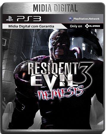 Resident Evil 3 - Clássico De Ps1 - Ps3 Psn - Mídia Digital