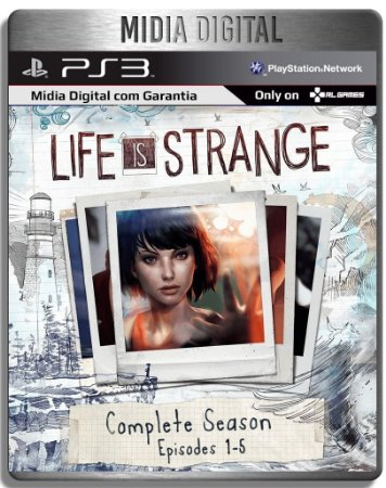 Life Is Strange - Temporada Completa - Ps3 Psn - Mídia Digital
