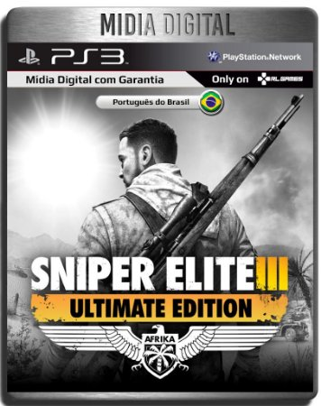 Sniper Elite 3 Ultimate Edition - Ps3 Psn - Mídia Digital