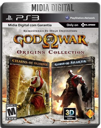 God Of War Origins Collection - Ps3 Psn - Mídia Digital